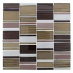 Cacoa Forest Glazzio Glass Tile