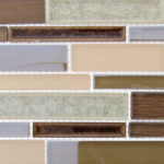 Mauve Mocha – Bella Muro Glass Series – Glazzio Glass Tile