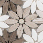 Fresh Bouquet –  Bouquette Glass Series – Glazzio Glass Tile