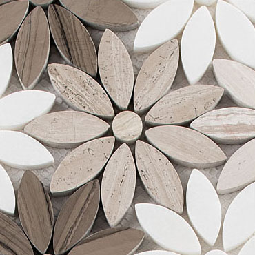 Fresh Bouquet –  Bouquette Glass Series – Glazzio Glass Tile