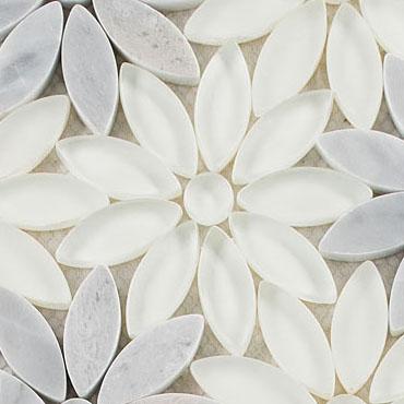 Daisy Field –  Bouquette Glass Series – Glazzio Glass Tile