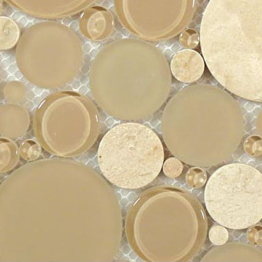 Sable Brown – Bubble Glass Series – Glazzio Glass Tile