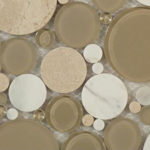 Olivine – Bubble Glass Series – Glazzio Glass Tile