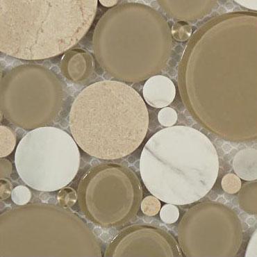 Olivine – Bubble Glass Series – Glazzio Glass Tile