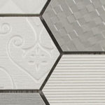 Shaded Canopy – Carnival Hexagons Glass Series – Glazzio Glass Tile