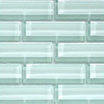 Crystile 1×3 Ice Mist Glossy – Crystile Glass Series – Glazzio Glass Tile