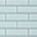 Crystile 1×3 Ice Mist Matte – Crystile Glass Series – Glazzio Glass Tile
