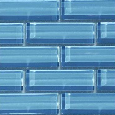 Crystile 1×3 Blue Seafoam – Crystile Glass Series – Glazzio Glass Tile