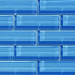 Crystile 1×3 Pacific Ocean – Crystile Glass Series – Glazzio Glass Tile