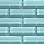 Crystile 1×3 Morning Mist – Crystile Glass Series – Glazzio Glass Tile