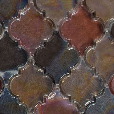 Spectrum Ridge – Dentelle Glass Series – Glazzio Glass Tiles