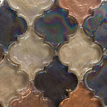 Desert Range – Dentelle Glass Series – Glazzio Glass Tiles