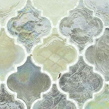 April Shower – Dentelle Glass Series – Glazzio Glass Tiles