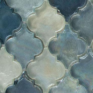 Heavenly Lagoon – Dentelle Glass Series – Glazzio Glass Tiles