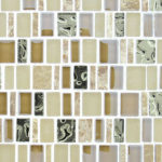 Crunched Pecan-  Enchanted Flavors Glass Series – Glazzio Glass Tile