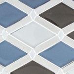 Cerulean Gaze – Falling Star Glass Series – Glazzio Glass Tile