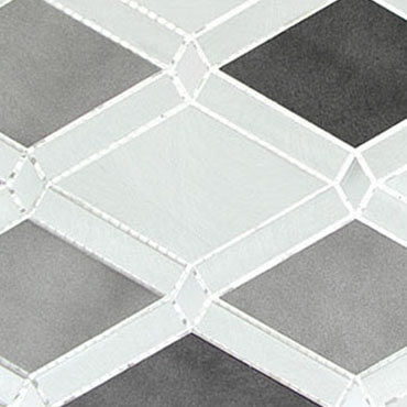 Platinum Moon – Falling Star Glass Series – Glazzio Glass Tile