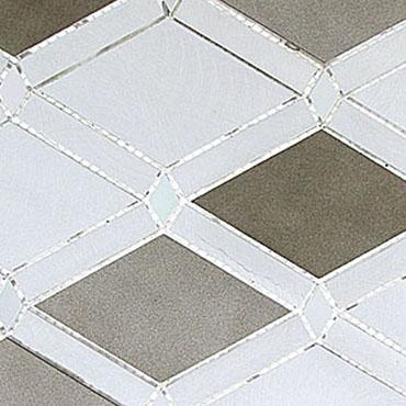 Jupiter Chrome – Falling Star Glass Series – Glazzio Glass Tile