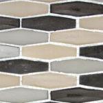 Royal Tweed – Modern Pyramids Glass Series – Glazzio Glass Tile