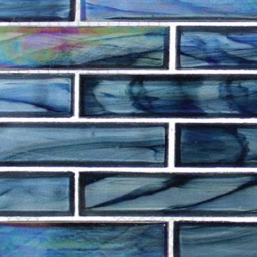 Cobalt Sea – Oceania Brick Glass Series – Glazzio Glass Tile