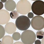 Platinum Foam – Symphony Bubble Glass Series – Glazzio Glass Tile