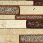 Sedona Rust – Tranquil Random Brick Glass Series – Glazzio Glass Tile