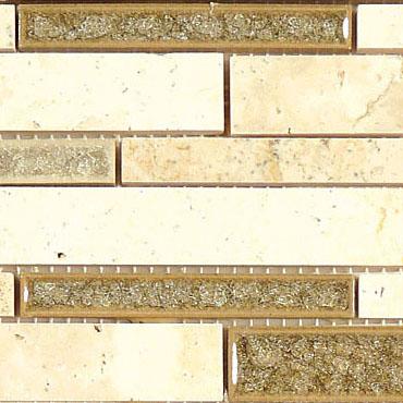 Sage Brush – Tranquil Random Brick Glass Series – Glazzio Glass Tile