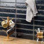 Black – Bahari Brick Series – Soho Glass Tile