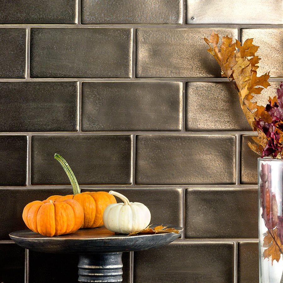 Baroque Copper – Baroque Series – Soho Glass Tile