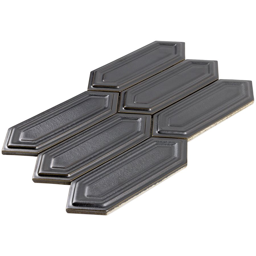 Baroque Sequin Gun Metal – Baroque Series – Soho Glass Tile
