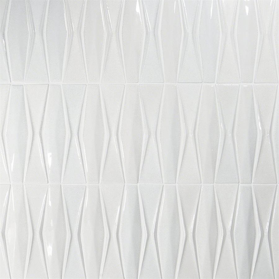Capitol Glass Tile – Baroque Adwick Blanco