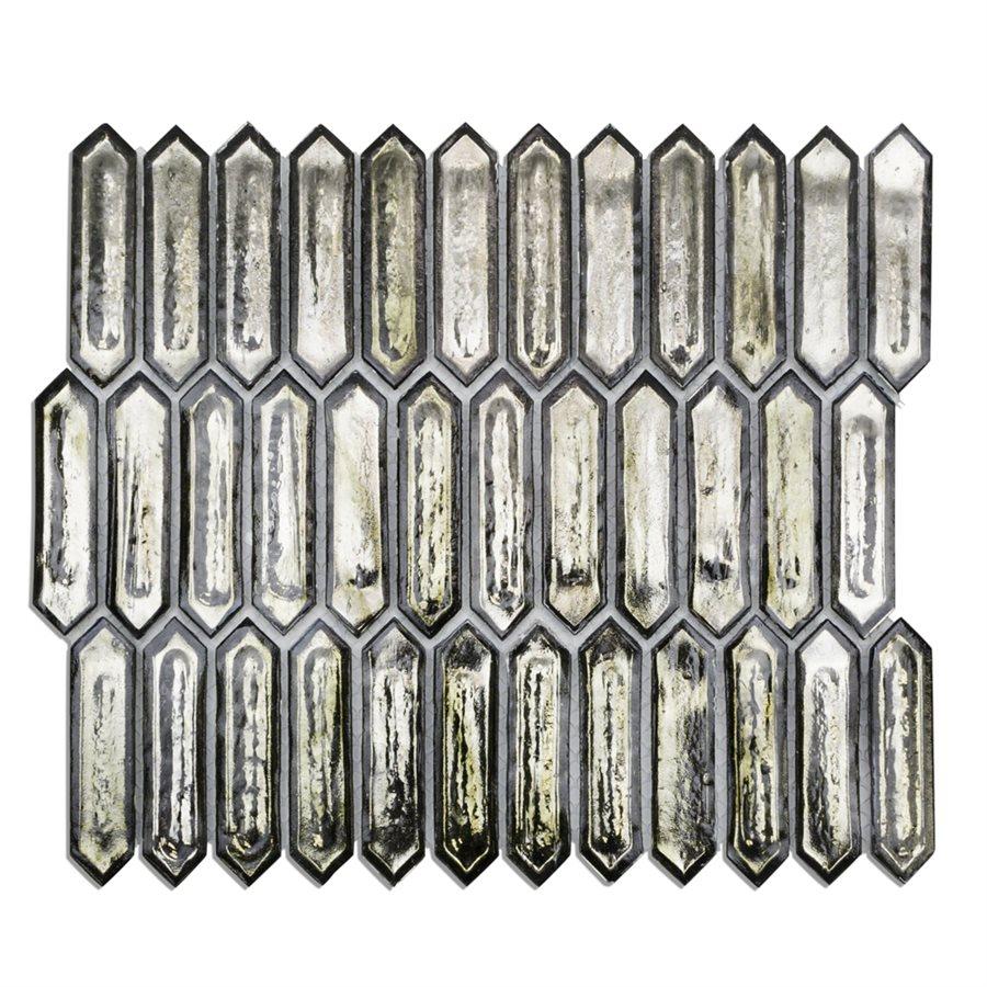 Capitol Glass Tile – Artemis Platinum Moss