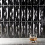 Capitol Glass Tile – Baroque Adwick Gun Metal