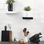 Capitol Glass Tile – Atmosphere White 5×10
