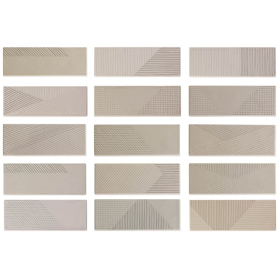 Fragments Grey Pearl 2x8