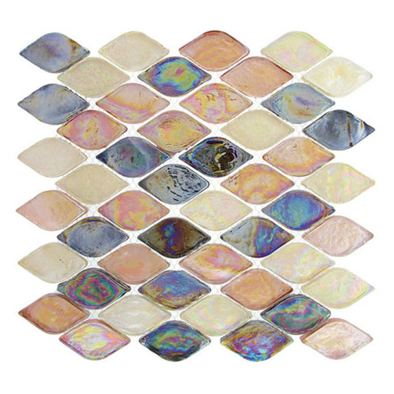 Glossy Spectrum – Aquatica Glass Series – Glazzio Glass Tile