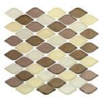 Taupe Mississippi – Aquatica Glass Series – Glazzio Glass Tile