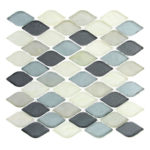 Grey Scale – Aquatica Glass Series – Glazzio Glass Tile