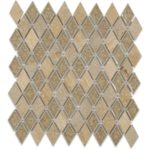 Country Travertine Diamond – Art Glass Series – Soho Glass Tile