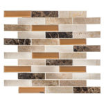 Carriage House – Beveled Castle Glass Series – Glazzio Glass Tile