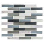 Azure Gardens – Beveled Castle Glass Series – Glazzio Glass Tile