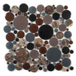 Twilight – Bubble Glass Series – Glazzio Glass Tile