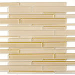 Bermuda Sand – Cane Glass Series – Glazzio Glass Tile