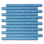 Crystile 1×3 Blue Seafoam – Crystile Glass Series – Glazzio Glass Tile