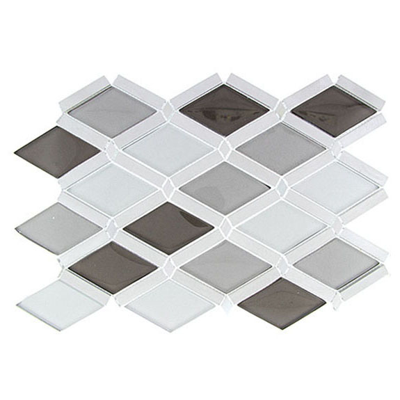 Silver Quill – Falling Star Glass Series – Glazzio Glass Tile