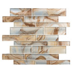 Cinnamon House – Magical Forest Glass Series – Glazzio Glass Tile
