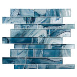 Periwinkle Dust – Magical Forest Glass Series – Glazzio Glass Tile