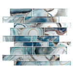 Crystal Lagoon – Magical Forest Glass Series – Glazzio Glass Tile