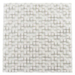 Quiet White – Morning Spa Glass Series – Glazzio Glass Tile