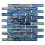 Cobalt Sea – Oceania Brick Glass Series – Glazzio Glass Tile